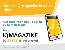 Text To Join IQ Magazine Mailing List